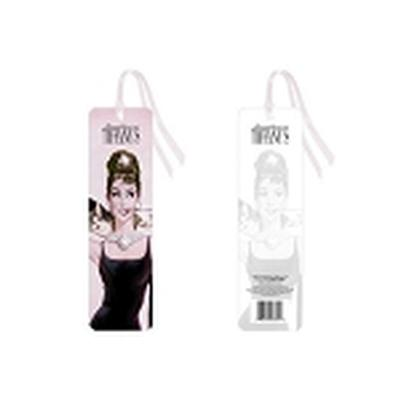 Click to get Breakfast at Tiffanys Cat Bookmark
