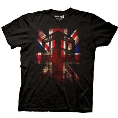 Click to get Doctor Who TShirt Tardis  Union Jack