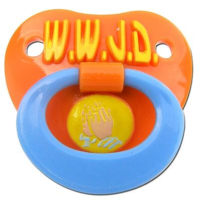 Click to get WWJD Pacifier