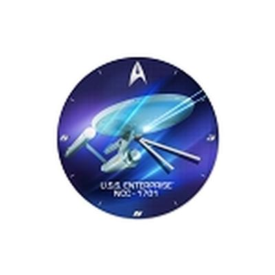Click to get Star Trek 135 Cordless Wood Wall Clock