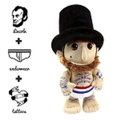 Click to get Whim Whams Abe Lincoln Underpants  Tattoos
