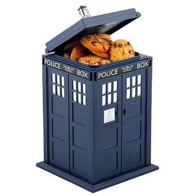 Click to get Doctor Who TARDIS Cookie Jar with Sound