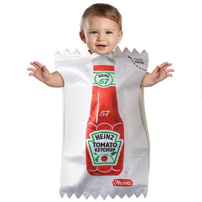 Click to get Ketchup Packet Baby Costume