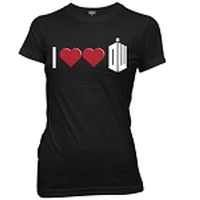Click to get I Double Heart Doctor Who Junior TShirt