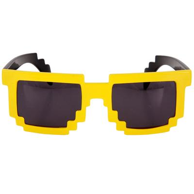 Click to get 8Bit Pixel Glasses Yellow