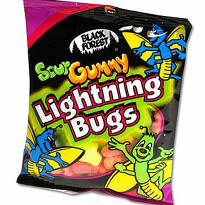 Click to get Sour Gummy Lightning Bugs Candy