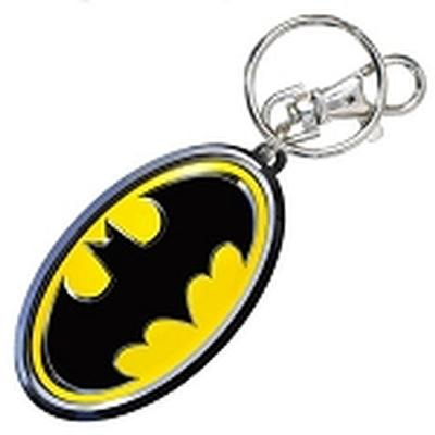 Click to get Batman Logo Pewter Keychain
