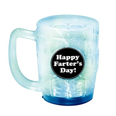 Click to get Happy FARTERS Day LightUp Beer Mug