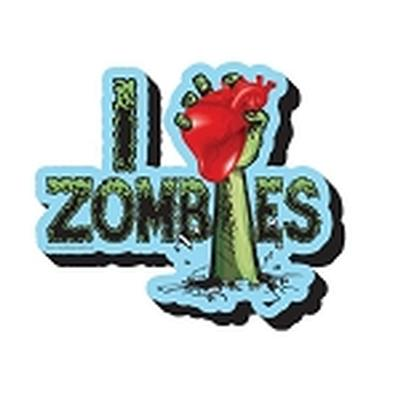 Click to get I Heart Zombie Magnet
