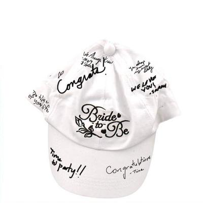 Click to get Bride To Be Autograph Hat
