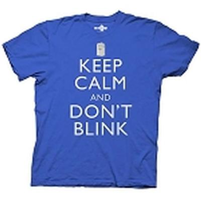 Click to get Doctor Who Keep Calm and Dont Blink TShirt