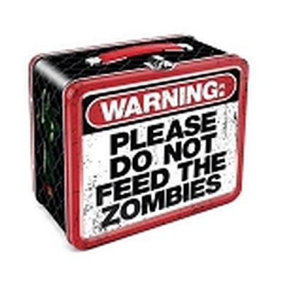 Click to get Zombie  Do Not Feed Lunch Box