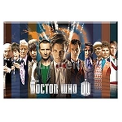 Click to get Doctor Who Magnet Collage of all Doctors Stripes