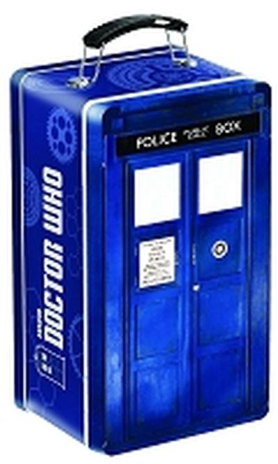 Click to get Doctor Who Tardis Shaped Tine Tote