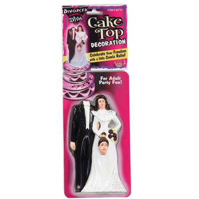 Click to get Divorce Diva Cake Topper