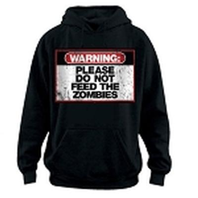 Click to get Zombie Warning Hoodie