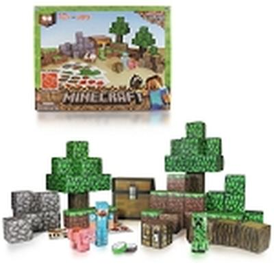 Click to get Minecraft Paper Craft Overworld Deluxe Set