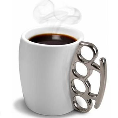 Click to get Fisticup Brass Knuckles Mug
