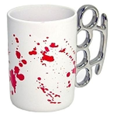 Click to get Blood Splattered Knuckle Mug