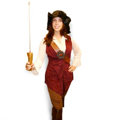 Click to get Sassy the Pirate Girl