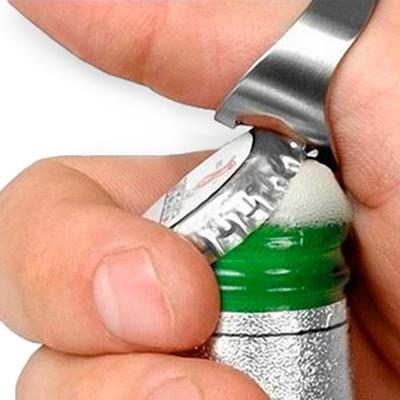 Click to get Beer Bottle Opener Ring  Pkg of 2